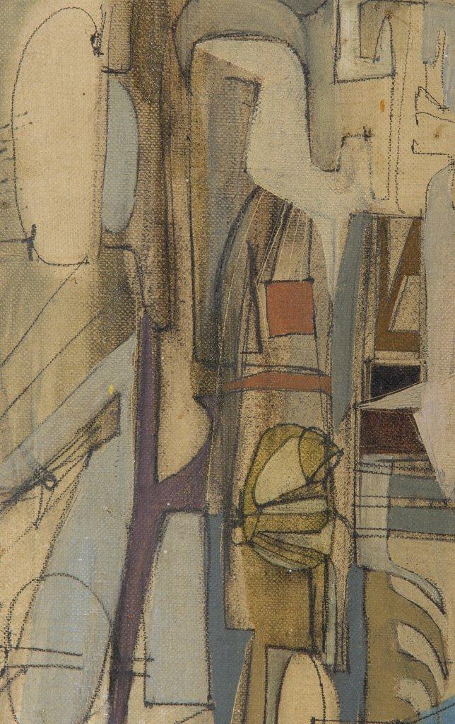 Sekula, Sonia (American, 1918-1963) 1947 Oil Painting - 3