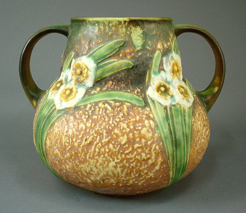 1: Roseville Art Pottery JONQUIL Vase