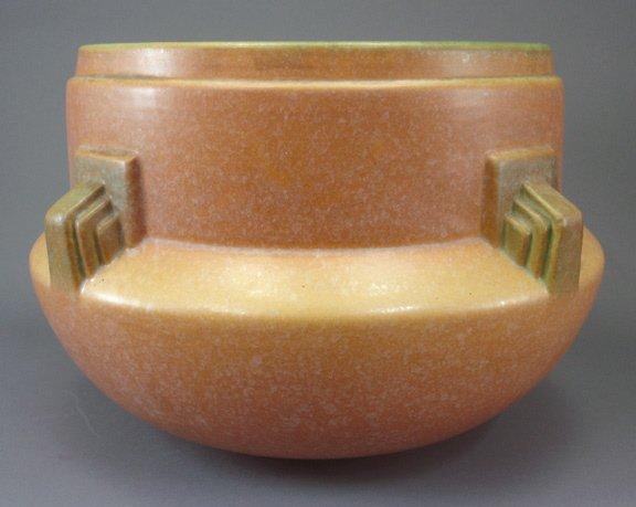 9: Roseville Art Pottery Topeo Artcraft Jardiniere