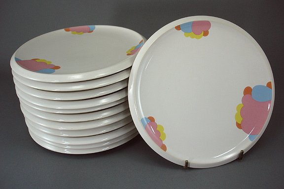 107: Art Deco Frank Lloyd Wright Design Rosenthal Plate