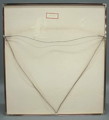 "265: Fine Artist Signed Gene Davis ""Stripes"" Print - 4"