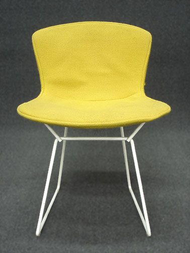 Set of 4 Knoll Bertoia Wire Dining Chairs