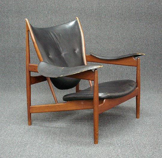 339: Finn Juhl Vodder Teak Denmark Chieftain Chair