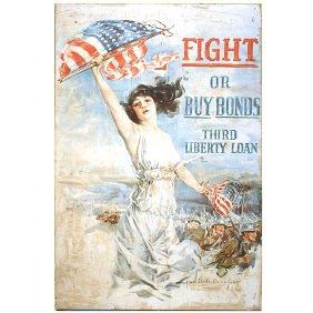 7: Original WWI Howard Chandler Christy Liberty Poster