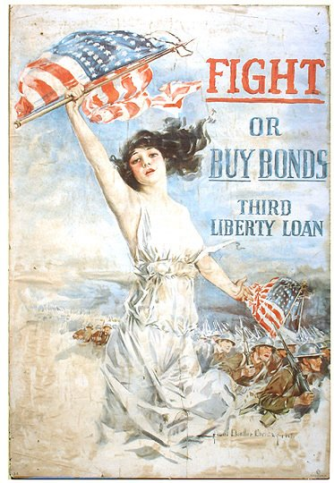 7: Original WWI Howard Chandler Christy Liberty Poster