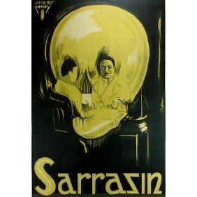 9: Sarrazin The Magician Original 1920s Magic Poster