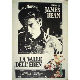 12: Original 1955 James Dean East of Eden Film Poster