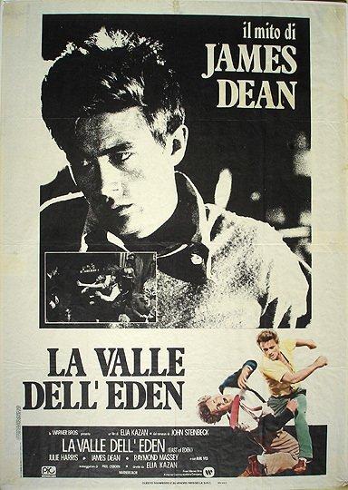 12 original 1955 james dean east of eden film poster. Black Bedroom Furniture Sets. Home Design Ideas