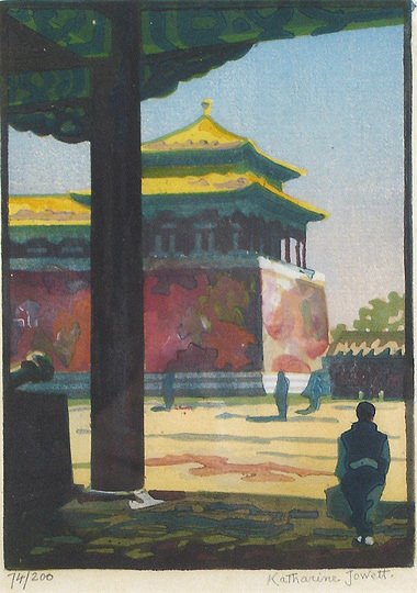 33: Katherine Jowett 1920s Through theGate Peking Print