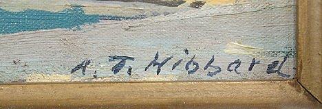 221: A. T. Hibbard Harbor Rockport Motif #1 Painting - 5