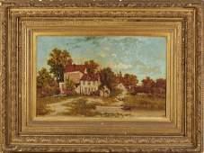 Charles T. Phelan (Am born 1840) NY City Painting