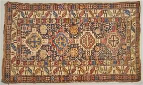 Antique Shirvan Hand Made Persian Oriental Rug