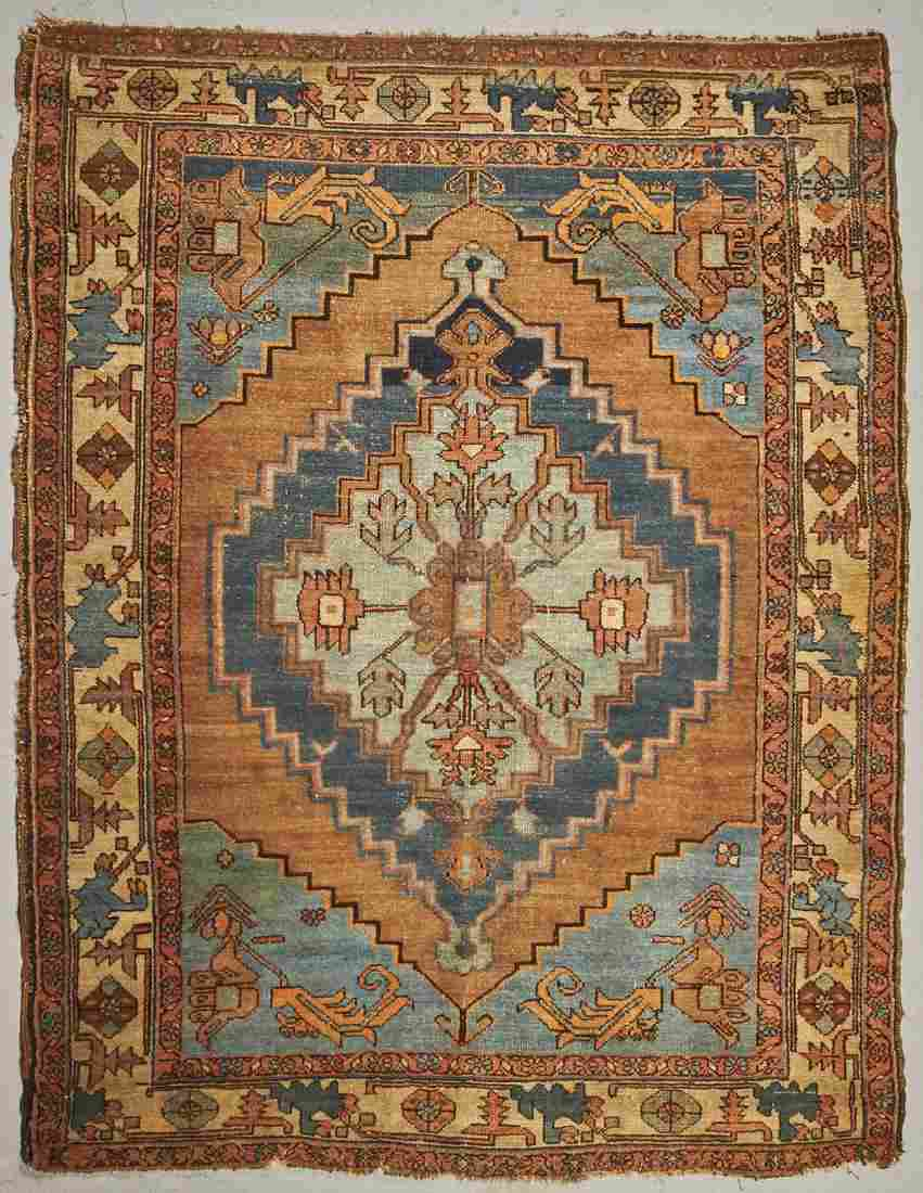Old Northwest Persian Hand Made Oriental Rug