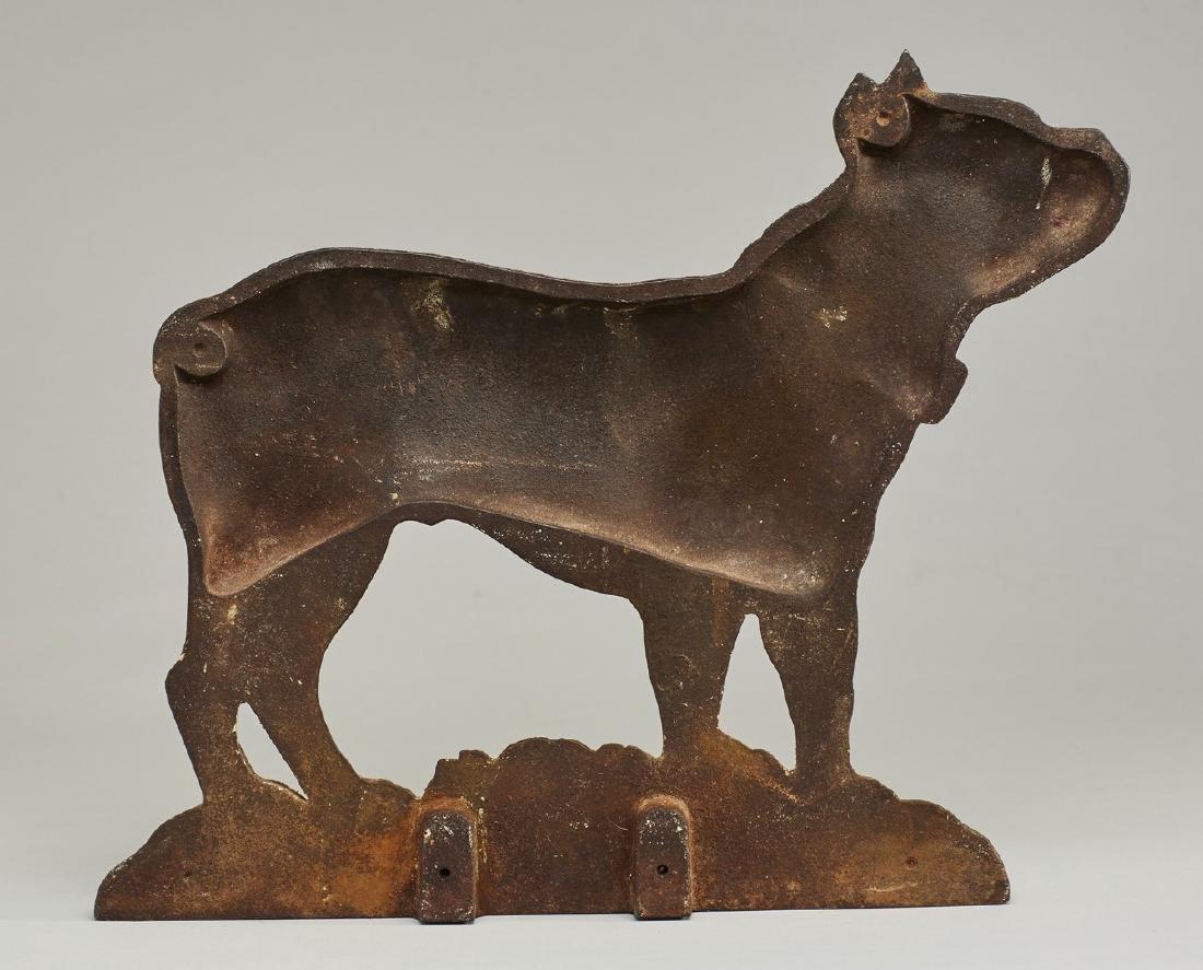 Cast Iron Doorstop Boston Terrier Bradley Hubard - 2