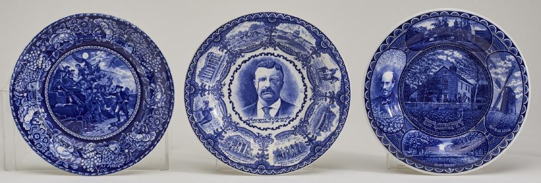 Three 19C Historical Rowland & Marsellus Plates