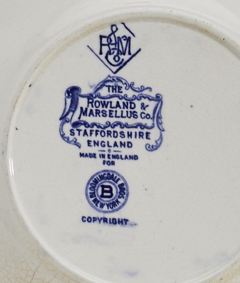 Three 19C Historical Rowland & Marsellus Plates - 4