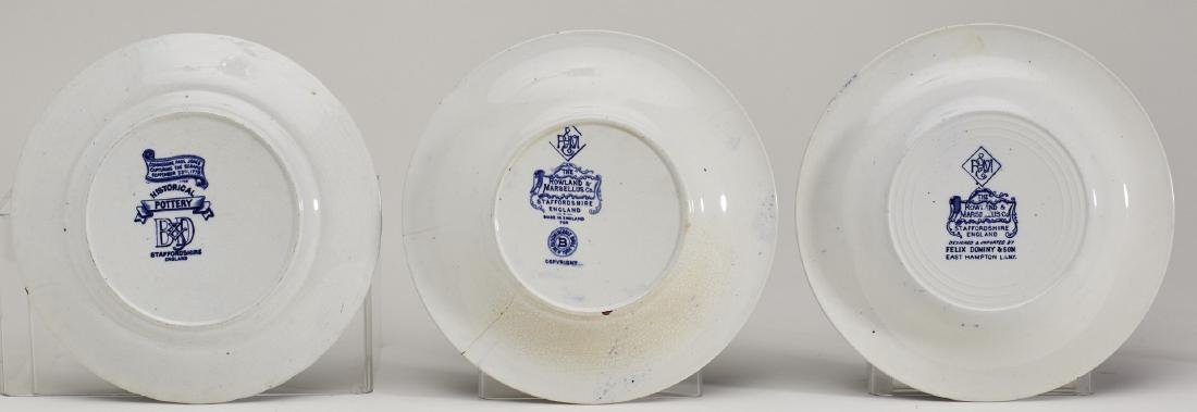 Three 19C Historical Rowland & Marsellus Plates - 5