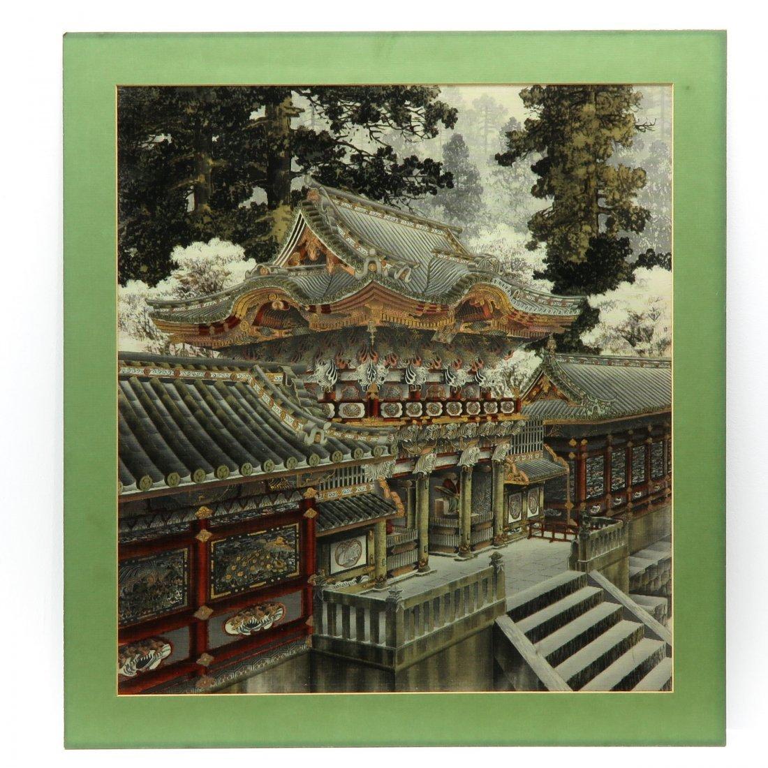 Chinese Art on Velvet