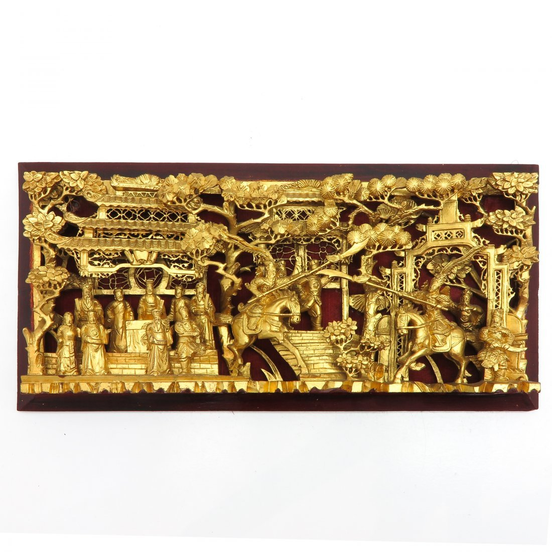 Chinese Wood Carving