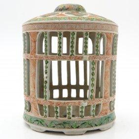 China Porcelain Birdcage