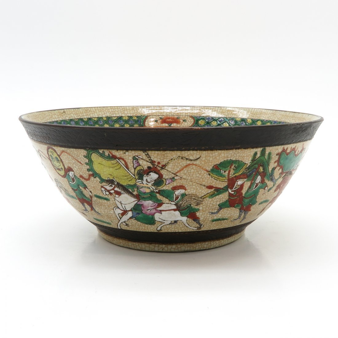 China Porcelain Nanking Decor Bowl