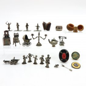 Diverse Lot of Miniatures