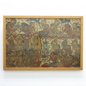 Balinese Oil on Canvas