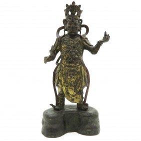 Bronze Warrior Sculpture