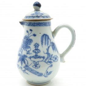 18th Century Pitcher with Lid