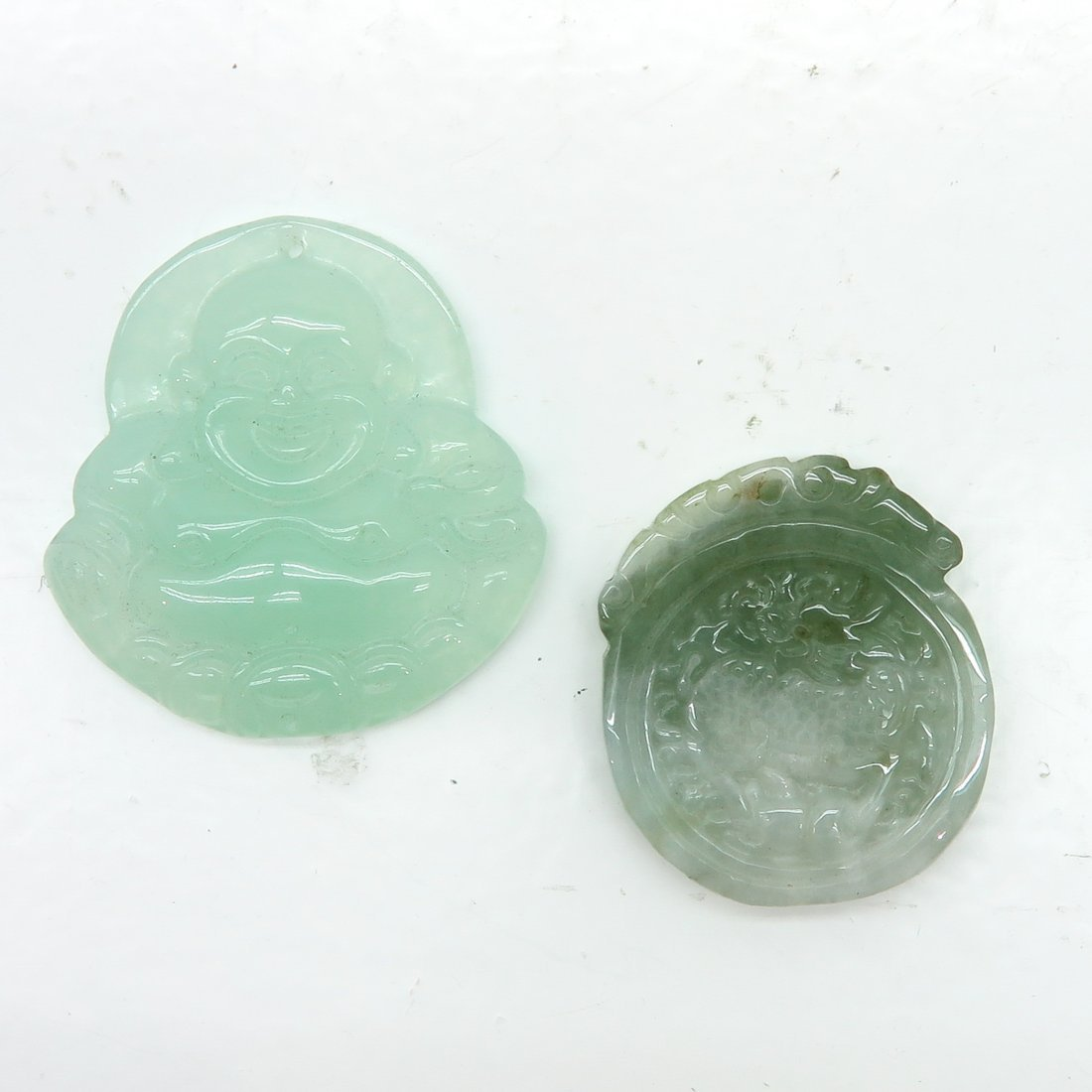 Lot of 2 Jade Pieces