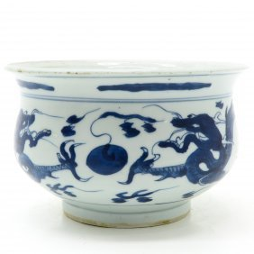 17th / 18th Century China Porcelain Cachet Pot