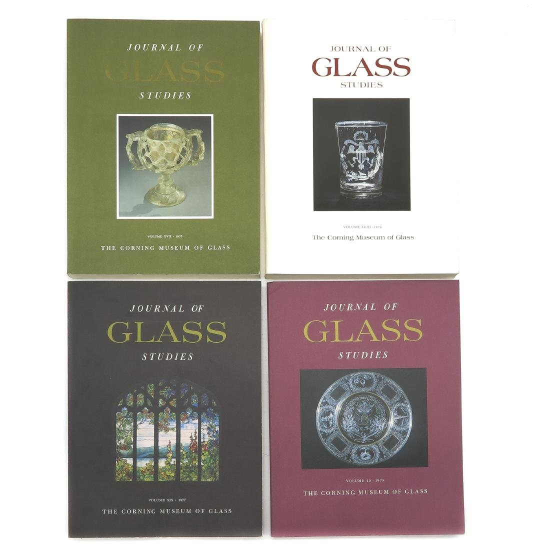Diverse Lot of 13 Journal of Glass Studies Books - 3