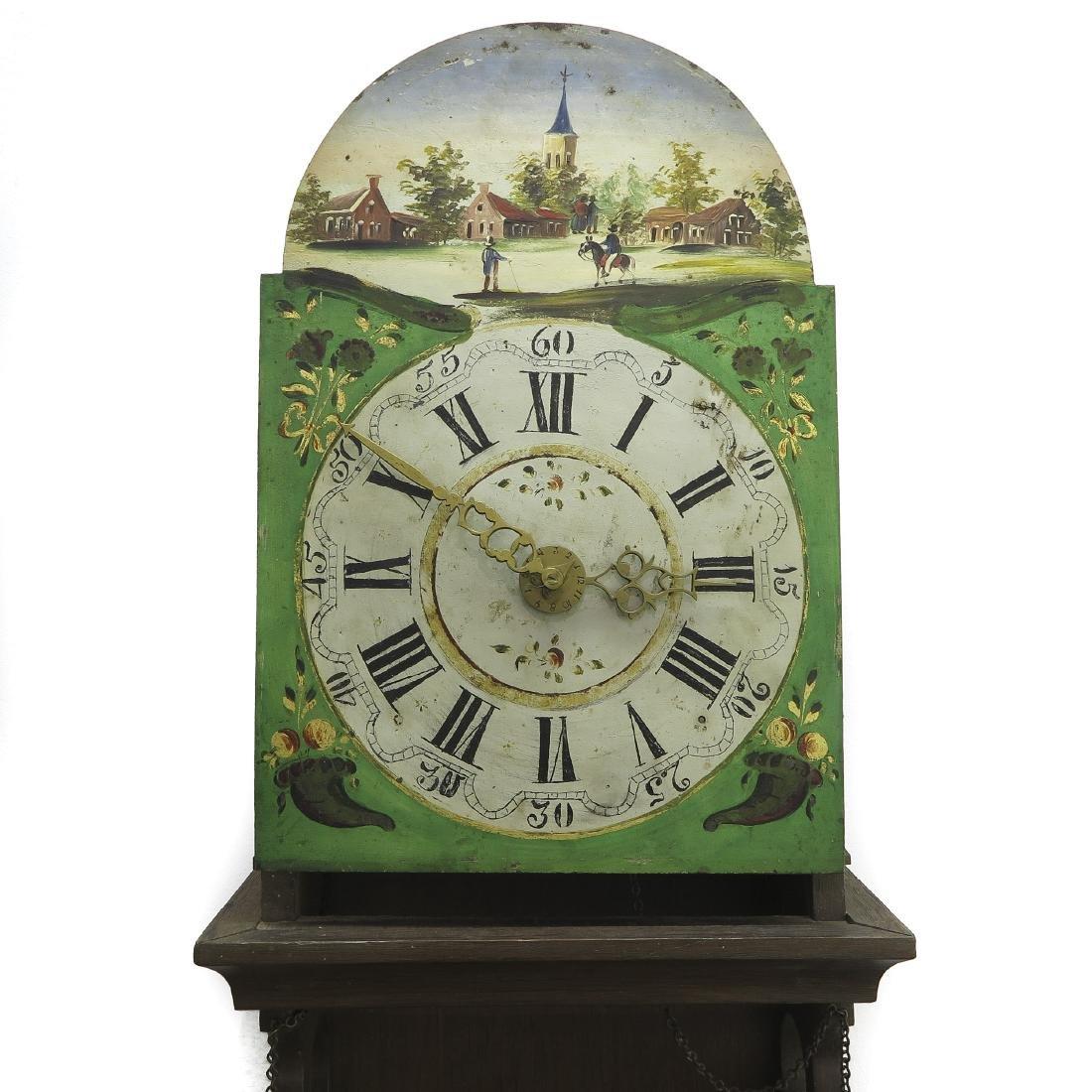 Dutch Staartklock or Hanging Wall Clock - 2