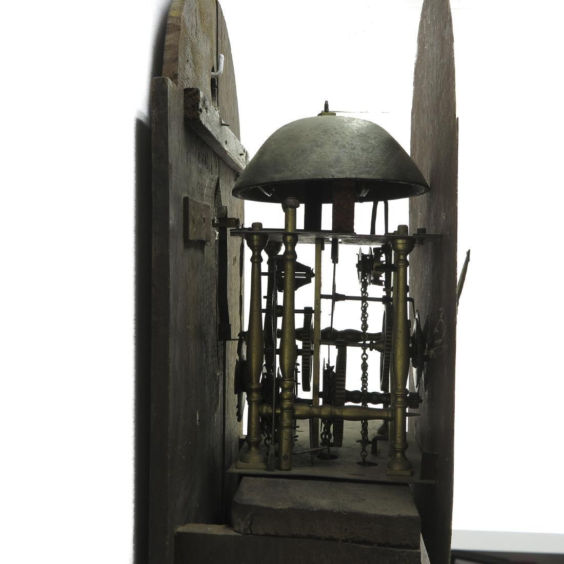 Dutch Staartklock or Hanging Wall Clock - 3
