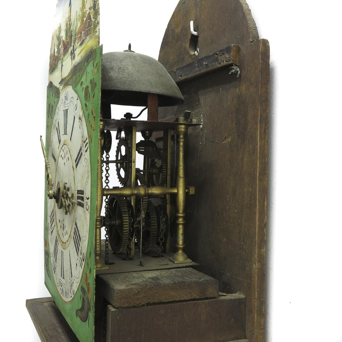 Dutch Staartklock or Hanging Wall Clock - 4