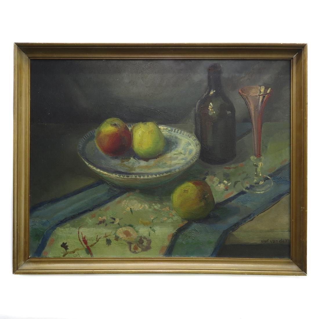 Oil on Canvas Signed Sjef van Delft