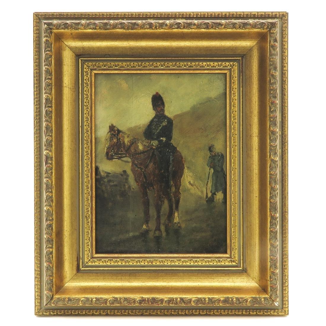 19th Century Oil on Panel
