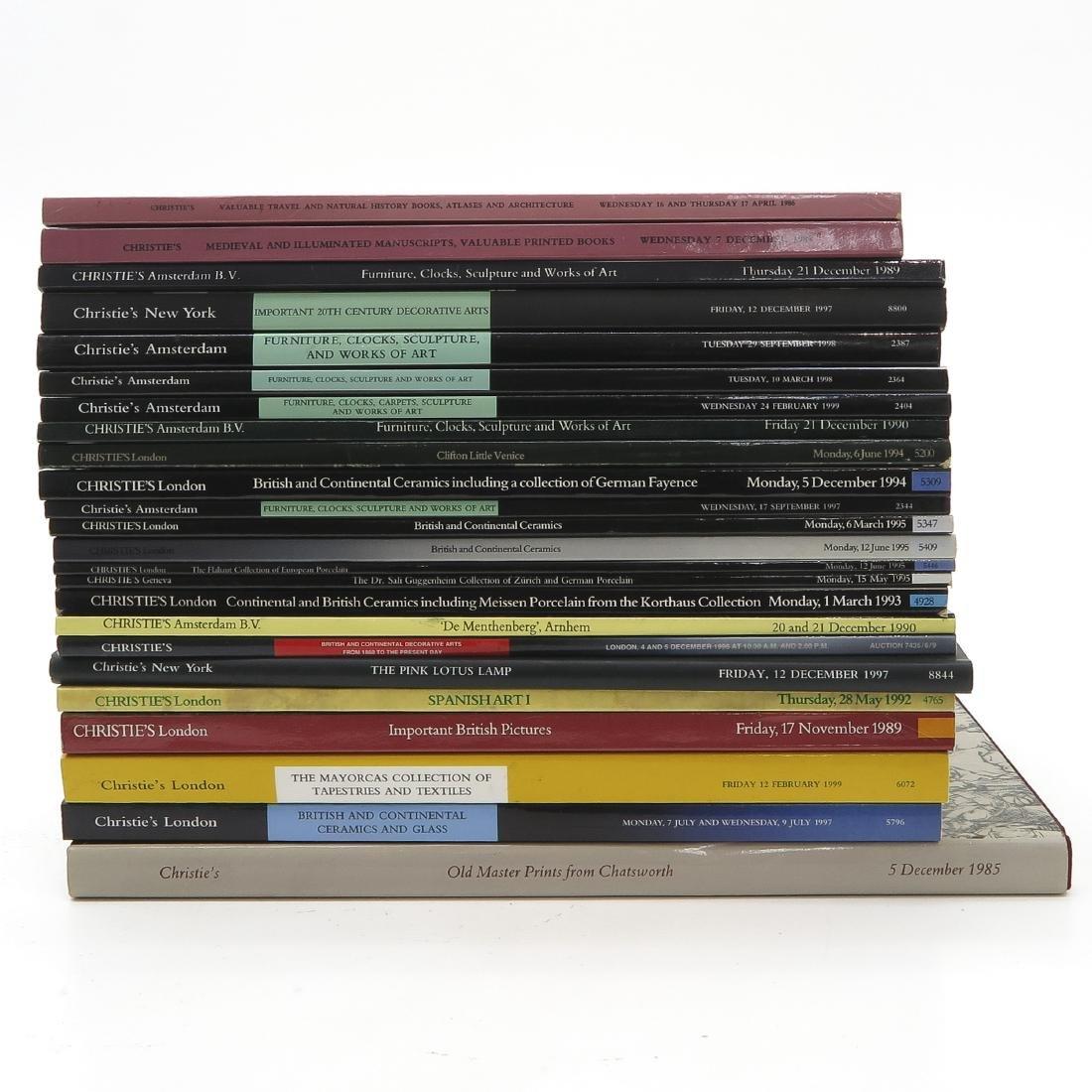 Diverse Lot of 24 Auction Catalogs