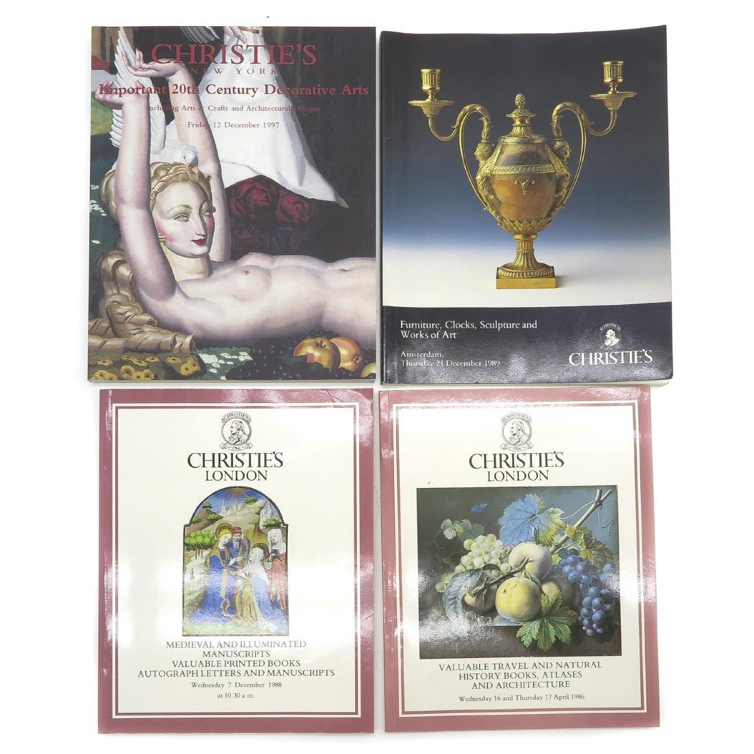 Diverse Lot of 24 Auction Catalogs - 2