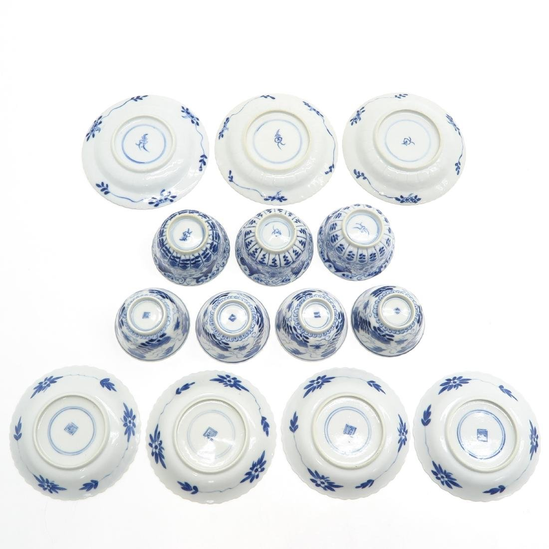 Diverse Lot of Cups and Saucers - 6