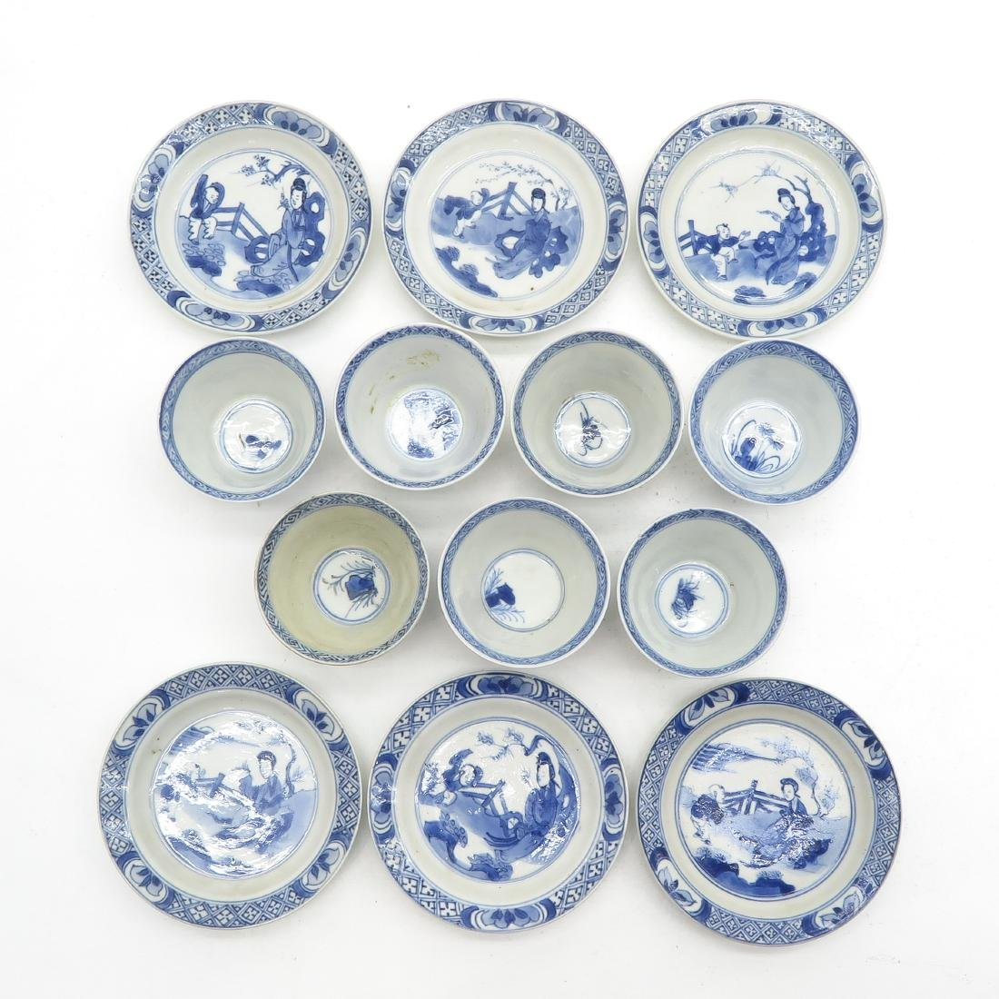 Lot of Cups and Saucers - 5
