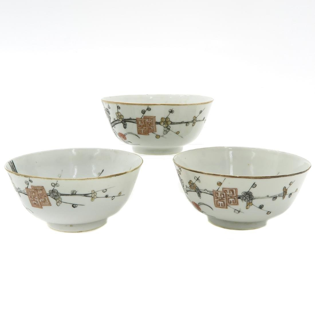 Lot of 3 Bowls - 2