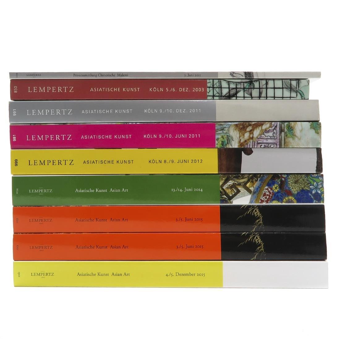 Diverse Lot of 9 Auction Catalogs