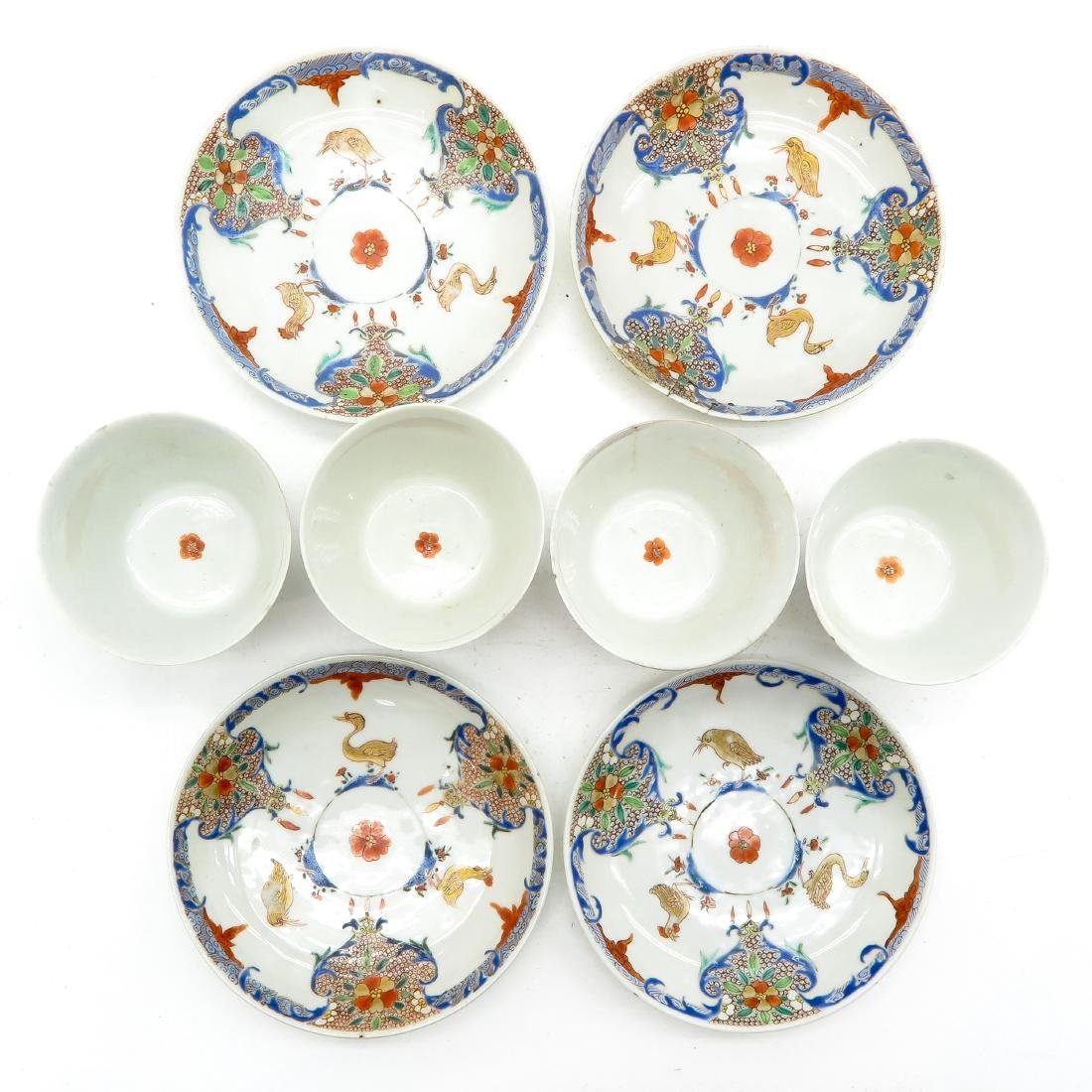 Lot of 4 Cups and Saucers - 4