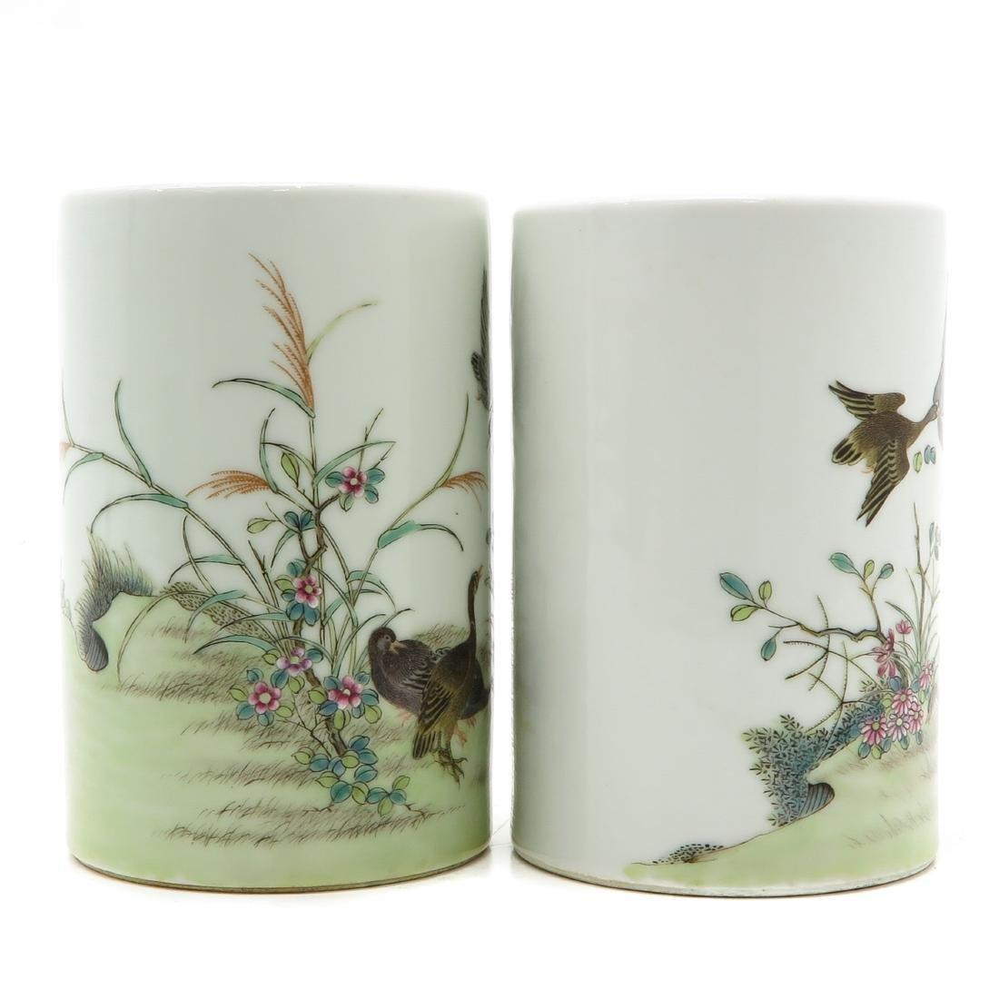 Pair of Pencil Pots - 3