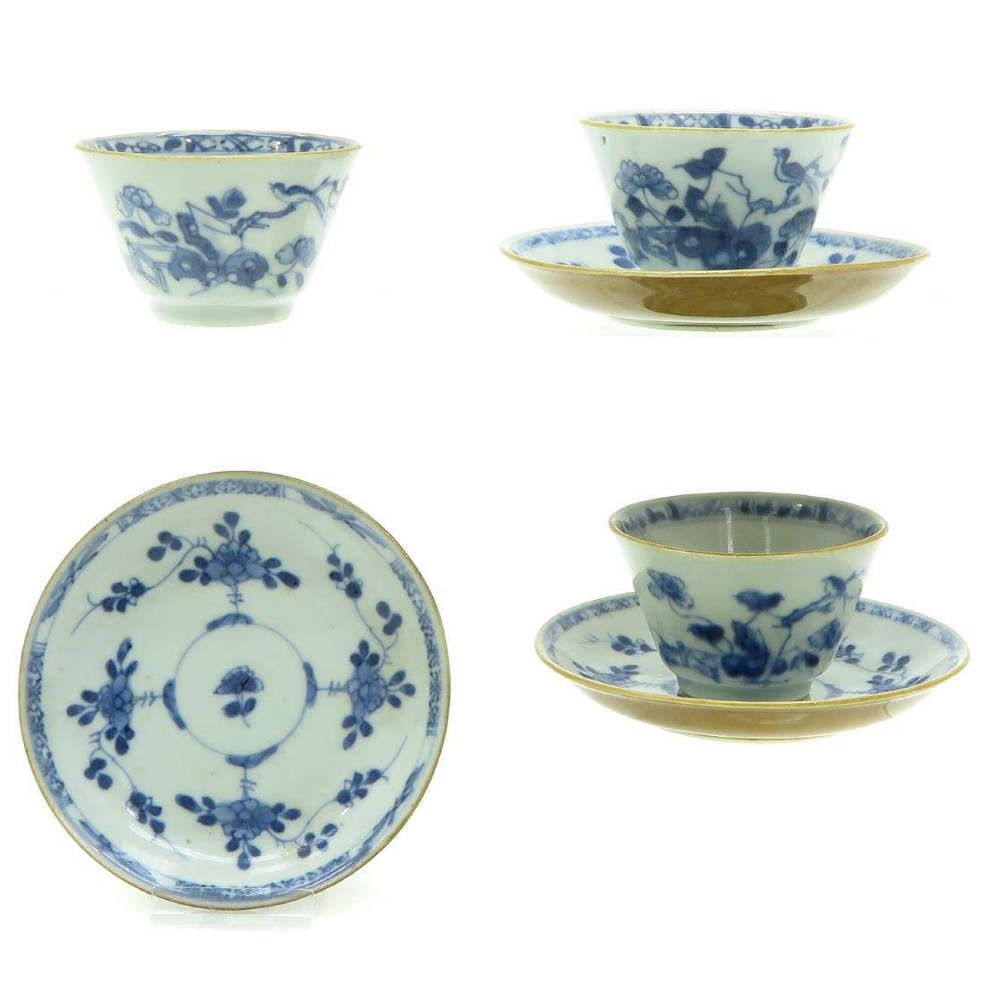 Lot of 3 Cups and Saucers