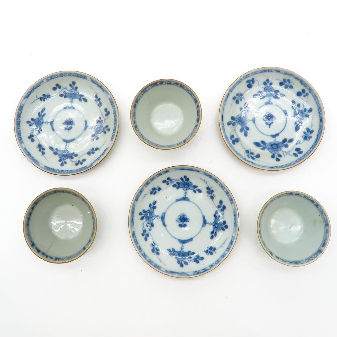 Lot of 3 Cups and Saucers - 4