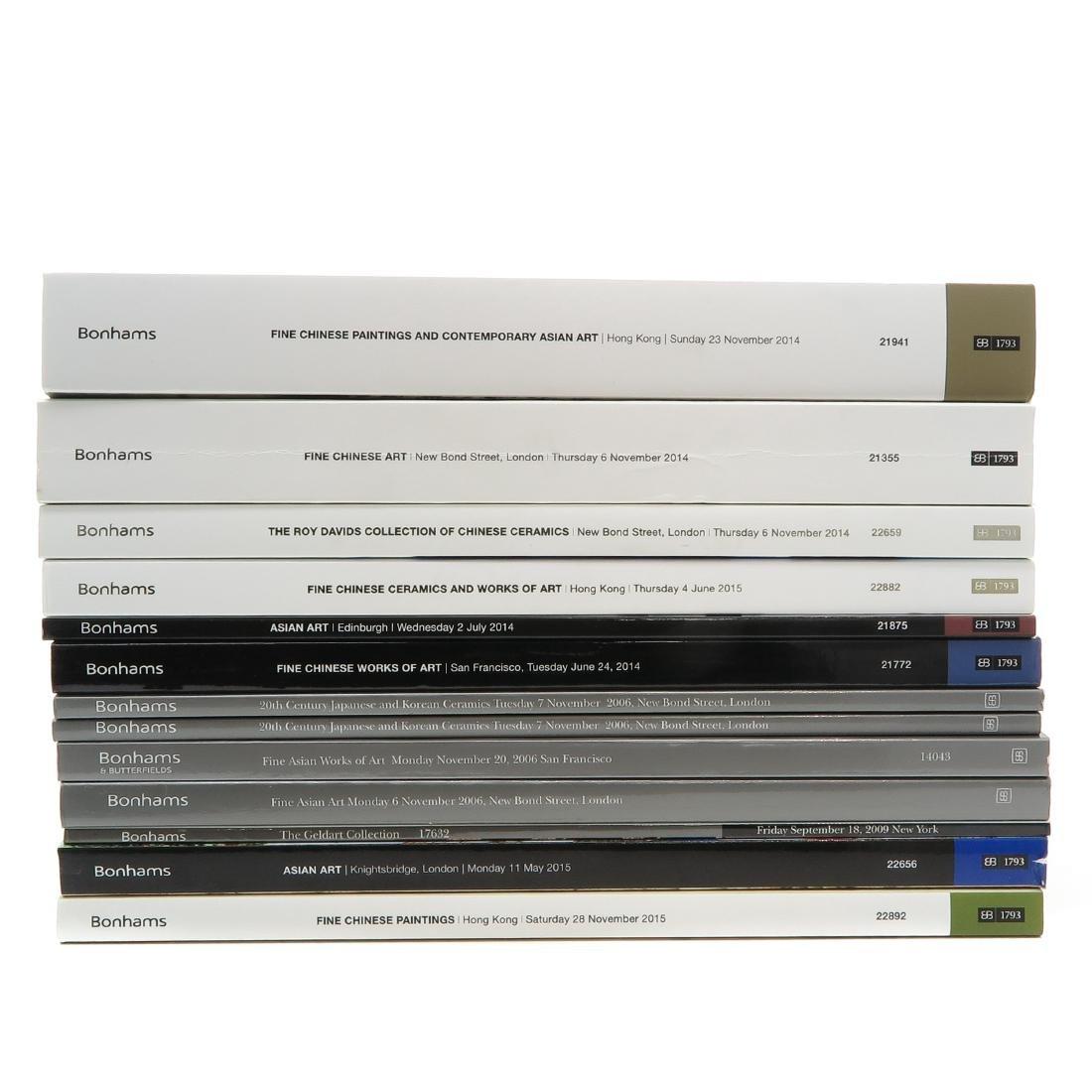 Diverse Lot of 13 Auction Catalogs