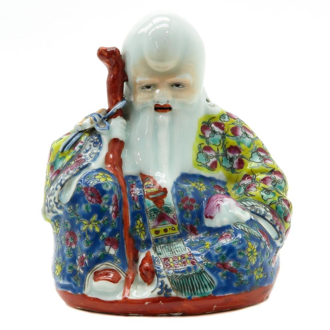 Porcelain God of Longevity