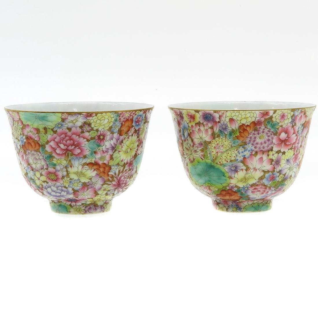 Lot of 2 Cups - 3